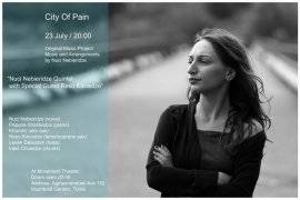"""City of Pain"" - is oroginal music project by Nuci Nebieridze"