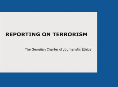 Reporting on Terrorism