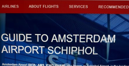 Guide to Amsterdam Airport Schiphol
