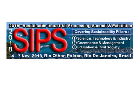 SUSTAINABLE INDUSTRIAL PROCESSING SUMMIT 2018