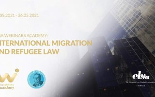 ELSA Webinars Academy on International Migration and Refugee Law