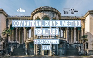 XXIV National Council Meeting Tskaltubo