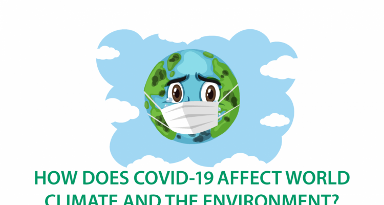 Does COVID 19 really contributes world climate and environment?