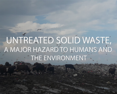 Unsorted waste as unlimited sources of microbial pathogens in solid waste