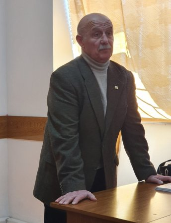A Lecture Delivered by Professor Ivane Menteshashvili