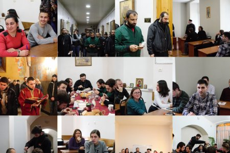 The Holy Liturgy Celebrated on the Request of the Residents of the Hostel and Students' Life