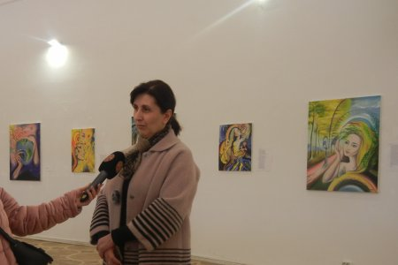 The Commentaries Made by the Head of the Public Relations Office Mrs. Mariam Topuria on Tea Nozadze's Personal Exhibition