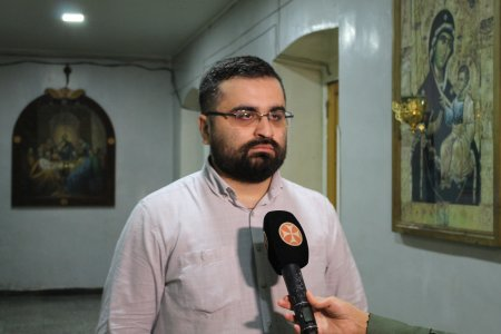 TV Interview with Lasha Zaalishvili, a Graduate of Tbilisi Theological Academy, Given in Connection with His Master's Degree Thesis