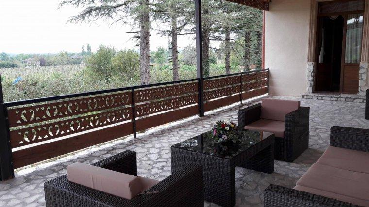 სასტუმრო მარტვილში სოფელ სალხინოში დადიანების სასახლესთან