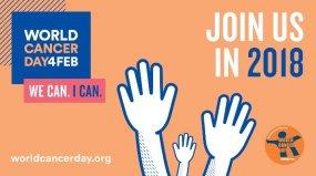 მე შემიძლია, ჩვენ შეგვიძლია! - 4 თებერვალი კიბოს მსოფლიო დღეა