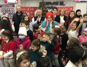 New Year evening with beneficiaries of the three funds at Georgian Public Broadcaster