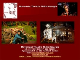 Movement Theatre Tbilisi Georgia