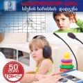 საქველმოქმედო აქცია სმენის გამოკვლევაზე 50 ლარად ნაცვლად 100 ლარისა.