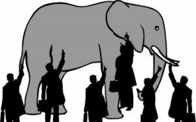 სპილო და ექვსი ბრმა / იგავი
