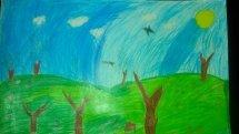 ბავშვთა ხელოვნების XVIII საერთაშორისო კონკურსი ქ.სერბიაში