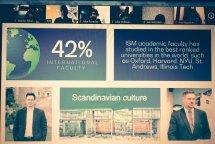 უფროსკლასელების ონლაინ შეხვედრა ევროპის პარტნიორ (ISM) მენეჯმენტისა და ეკონომიკის უნივერსიტეტის ხელმძღვანელთან