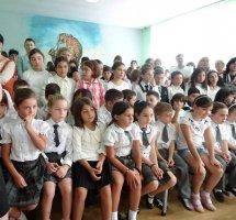 2013 წლის 16 სექტემბერს სკოლის დირექციამ მიულოცა მოსწავლეებს სასწავლო წლის დაწყება.