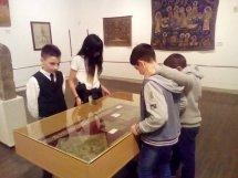 ვიზიტი ხელოვნების ეროვნულ მუზეუმში (ოქროს ფონდი)