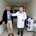 გერმანელი პროფესორების ვიზიტი თსსუ პირველ საუნივერსიტეტო კლინიკაში