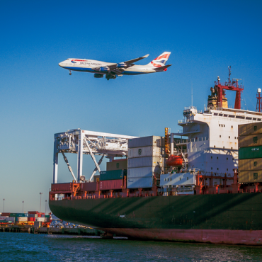 Air and container transportation from China