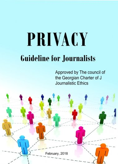 Privacy – Guideline for Journalists