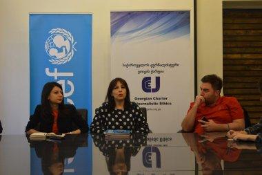 ქარტიამ და UNICEF-მა ჟურნალისტებთან დისკუსია გამართეს