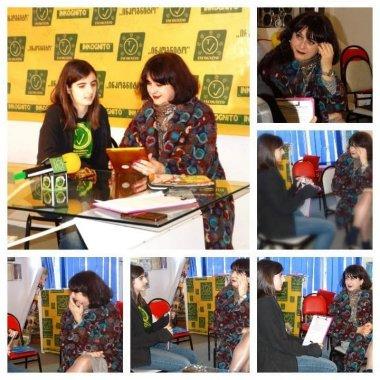 www.incogntiotv.ge საიტის წარმატებული ჟურნალისტი მარიამ ქოიავა თვითნასწავლ
