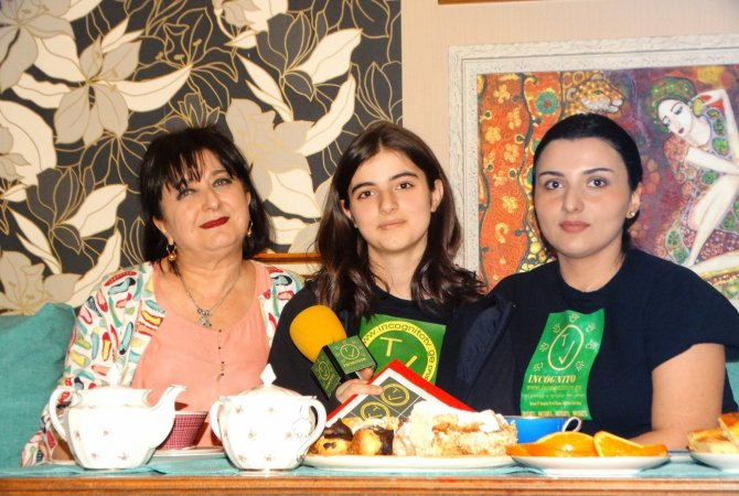 www.incognitotv.ge სტუმრად მხატვარ მაია ბირკაძესთან