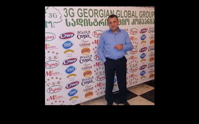 """3G-Georgian Global Group""-ის წარმომადგენელი კახაბერ ფეიქრიშვილი"