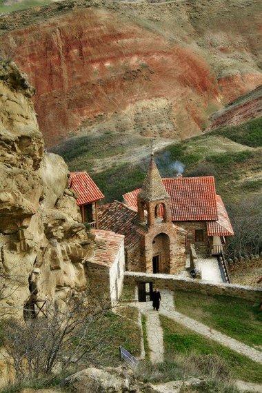 Davit Gareja Caved Monastery