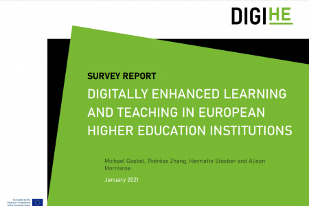 ევროპის უნივერსიტეტთა ასოციაციამ კვლევის ანგარიში: Digitally enhanced learning and teaching in European Higher Education Institutions გამოაქვეყნა