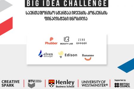 Big Idea Challenge - The Finalists