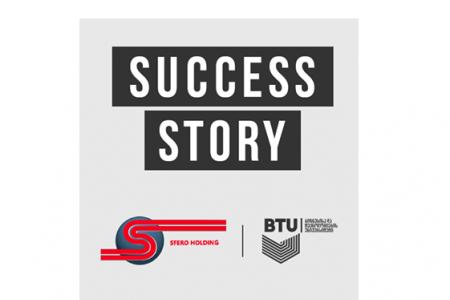 BTU-ს სტუდენტები, SMARTSTUDENT-ის ფარგლებში, სფერო ჰოლდინგის სხვადასხვა დეპარტამენტში დასაქმდნენ