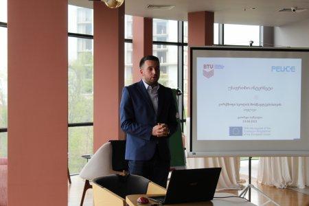 "workshops for schoolkids in Telavi - ""Safer Internet for Children"""