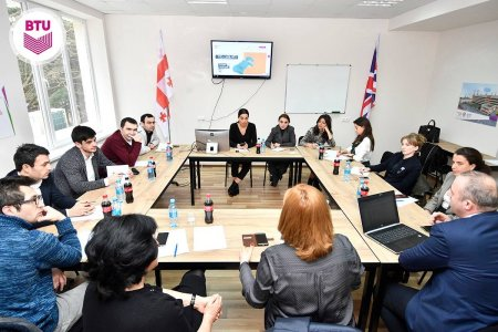 Strategy of renewable energy sources in Georgia was discussed at BTU