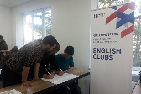 British Council's pilot project - English Club