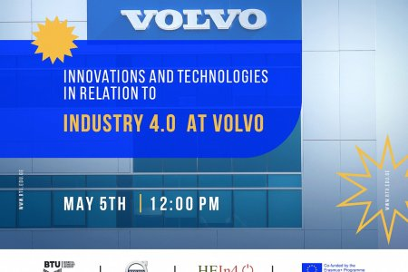 Innovations and Technologies in relation to Industry 4.0 at Volvo