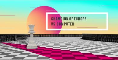 Chess match HP Slice vs European champion