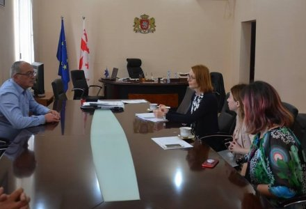 Visit of the Regional Manager of the Austrian Development Fund to Dusheti Municipality