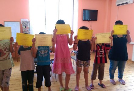 Summer Holidays for Children and the Environment Center for Children, planned by the CSDC
