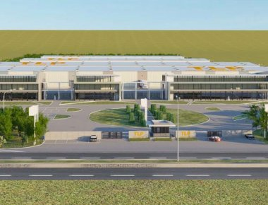 EC begins construction of a logistics center in Tserovani