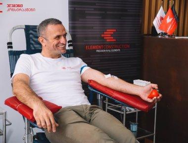 Добровольное донорство крови в EC
