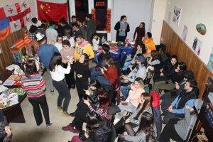 უცხოელი სტუდენტების ვიზიტი ქართველ სომეხთა კავშირში