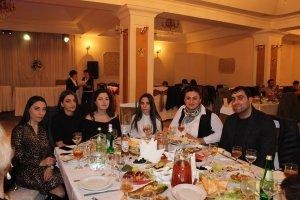 Новогодняя вечеринка Союза Грузинских Армян.