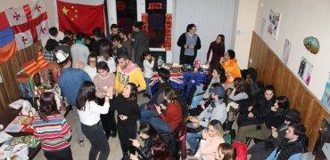 Օտարերկրացի ուսանողների այցը Վիրահայերի միությունում