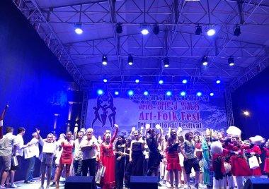 """საერთაშორისო ფესტივალი """"არტ-ფოლკ ფესტ ზაფხული 2021"""" გაიმართა/International festival"""