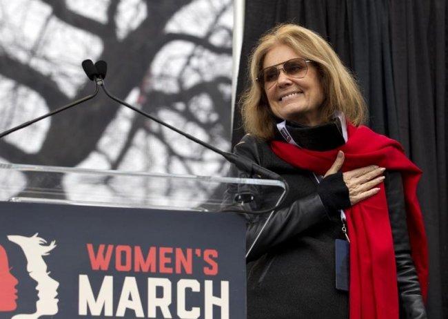 გლორია სტაინემი -  ჟურნალისტი, მწერალი და ქალთა უფლებების აქტივისტი