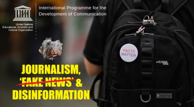 """""""ჟურნალიზმი, Fake News და დეზინფორმაცია - ახალი სახელმძღვანელო ჟურნალისტებისთვის"""