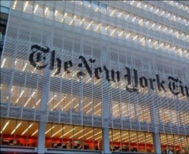 The New York Times - ის ბოდიში