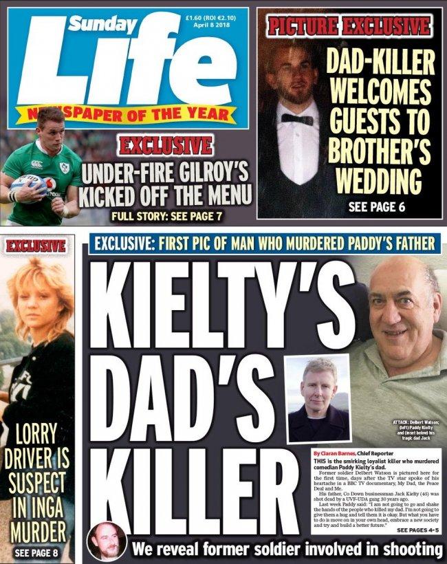 მკვლელობისთვის მსჯავრდებულის ფოტოს დაბეჭდვით, სადაც ბავშვიც ჩანდა, Sunday Life-ს სტანდარტი არ დაურღვევია